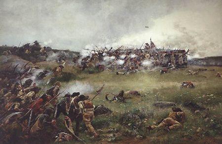 Le Bataillon Carré, par Julien Le Blant (1880)