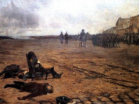 La Mort de d'Elbée, par Julien Le Blant (1878)