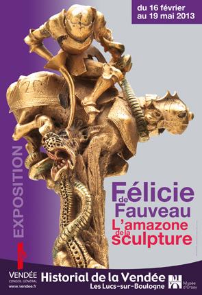 expo le 16 février 2013 : « Un combat pour l'Art avec Félicie de Fauveau, dernière amazone de la Chouannerie » (1/3)