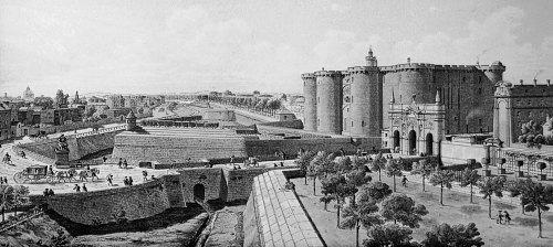 Prison de la Bastille au XVIIIe siècle