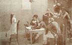 La petite de Bonchamps, un tableau de J.-P. Laurens