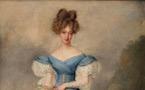 Un beau portrait de la Duchesse de Berry, par Dubois-Drahonet