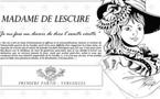 La vie de Madame de Lescure en bande dessinée