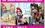 """Voici le """"sans-culotte"""" à travers les âges : 1793-2013 (arrêt sur image : 1/7 l'imagerie révolutionnaire )"""