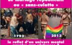 Du mariage républicain au mariage sans-culotte (arrêt sur image : 2/7 l'imagerie révolutionnaire )