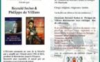 Conférence de Reynald Secher et Philippe de Villiers dans le Morbihan