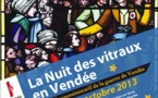Rendez-vous pour la nuit des Vitraux Vendéens à Saint-Hilaire de Mortagne le samedi 12 octobre