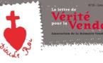 Parution de la lettre « Vérité pour la Vendée » n° 35