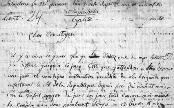 Les internautes au service de la collecte d'archives des Guerres de Vendée
