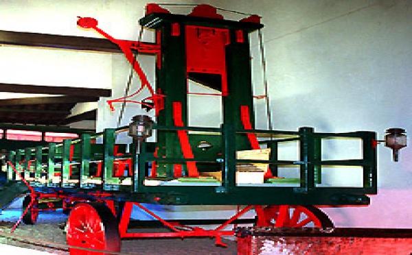 Une guillotine au musée