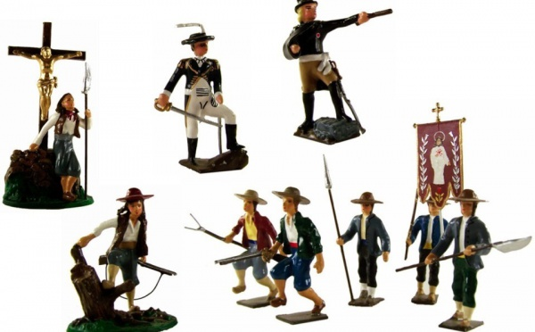 Une collection de figurines vendéennes