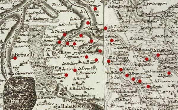 « Mort par les républiquains », Chavagnes, 23 février 1794