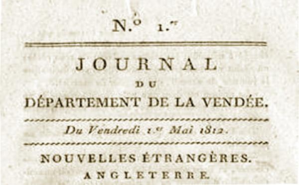 Les débuts de la presse vendéenne (1790-1812)