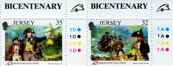 Une collection de timbres chouans